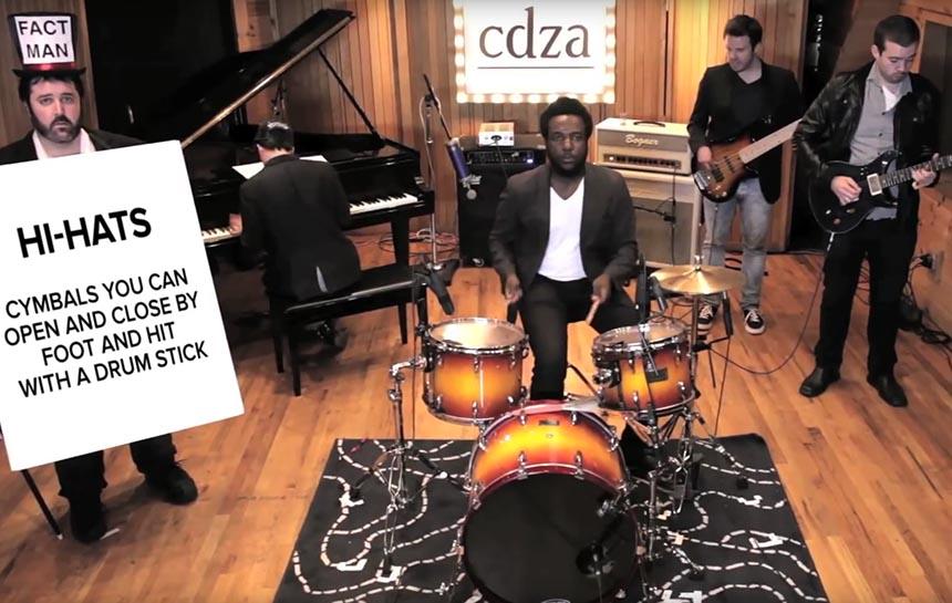 Was ein Schlagzeug ausmacht …